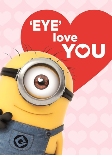 - valentijn-minion-eye-love-you